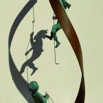 ESPIRAL DE NEWTON Cada escultura(x2) 1090€ + espiral 625€ €= 2830€