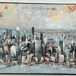 """Tenorio """"N.Y."""" (130x60cm.) 2.400€"""