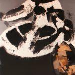 "M. Valdés ""Doña Mariana"" Aguafuerte con collage (146 x 98 cm.) 11.000 €"