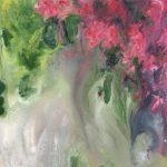 Trepadora floral 50x50 cm. Acrílico s/lienzo 3D 400€
