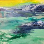 "M. Ciurana ""Fantasia marina"" (90x90cm.) Acrílico s/lienzo 900 €"