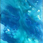 """M. Ciurana """"La forma del agua"""" (60x120cm.) Acrílico s/lienzo 850 €"""