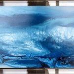 Mar adentro 40x20 cm. Acrílico s/ plancha metacrilato 600€