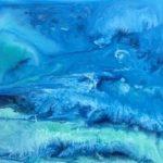 OleajesX 30 x30 cm. Acrílico s/lienzo 300 €