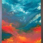 "M. Ciurana ""Viaje sensorial"" (50x60cm.) Acrílico s/lienzo 3D. 600€"