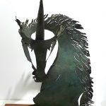 "M. ANGEL GUETE ""UNICORNIO"" bronce 78x60x40 2500€"