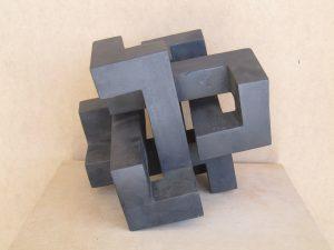 E. Tolosa -Acero corten- (28x28x28 cm.) 2.440€