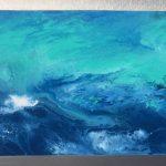 "M. Ciurana ""Eterno movimiento"" Acrílico sobre lienzo (125x55 cm.) 1.300€"