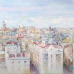 Regina P. Alonso - Valencia desde las Torres de Serranos - Óleo - 120x93 - 2.800,00€